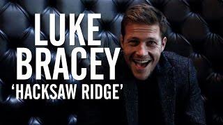 'Point Break's' Luke Bracey on Working With Mel Gibson on 'Hacksaw Ridge'