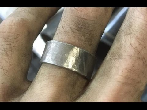 How to Make a Stainless Steel Ring