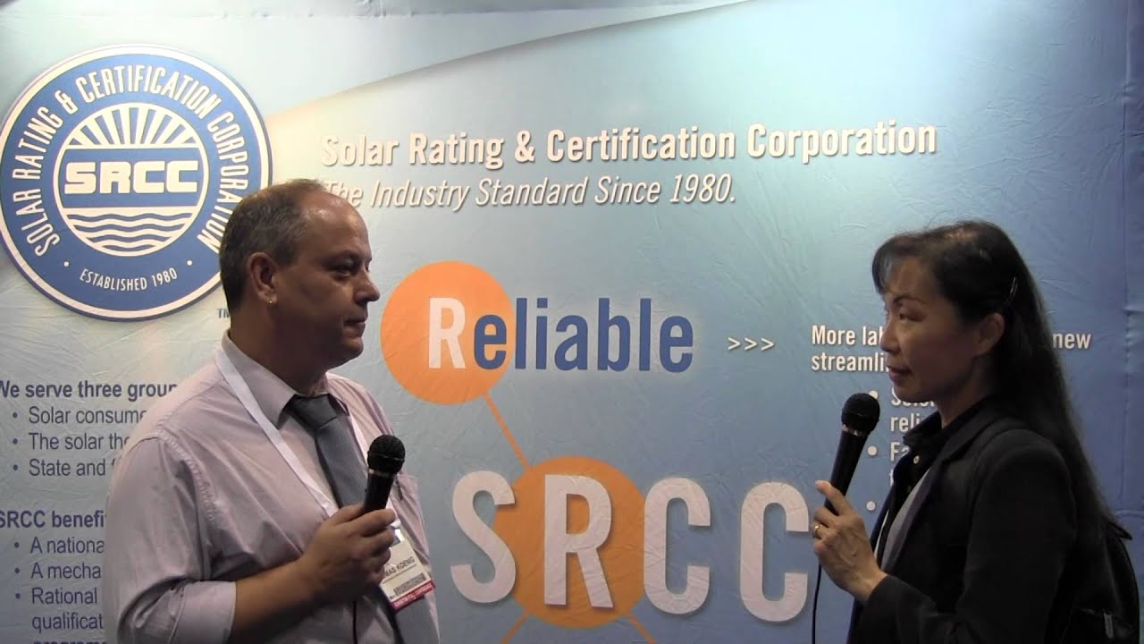 Srcc solar rating certification corporation at solar power srcc solar rating certification corporation at solar power international 2012 in orlando fl 1betcityfo Image collections