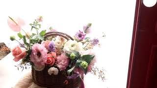 교대역꽃집 출산축하 꽃바구니