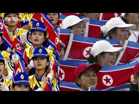 Meet Kim Jong-un's 'army of beauties' - North Korea's cheering squad