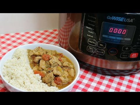 Pressure Cooker Pork Green Chili Stew ~ Featuring GoWise 10 quart Pressure Cooker ~ Noreen's Kitchen