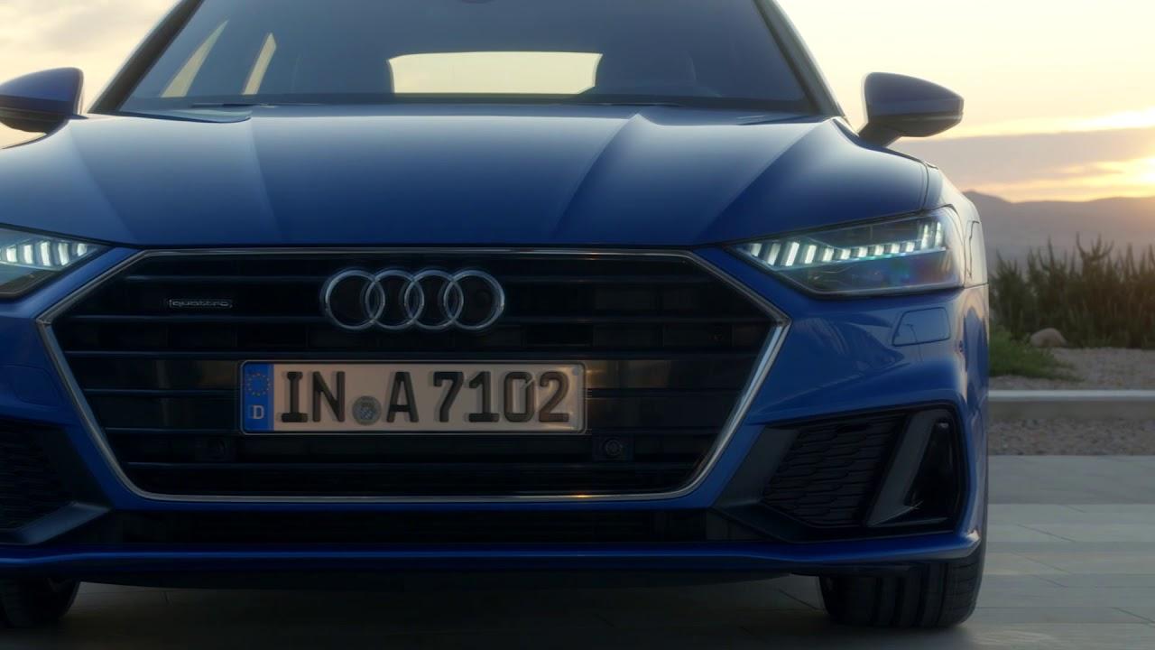 2018 Audi A7 Sportback Headlights Tail Lights Hd Matrix Led W