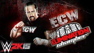 ECW Modo Universo - Elimination Chamber Semana 5 - WWE 2K15