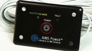 AIMS Power Inverter Remote Switch - REMOTEHF