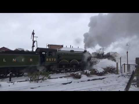 Severn Valley Railway, Spring Steam Gala, Sunday 18th March Part 1
