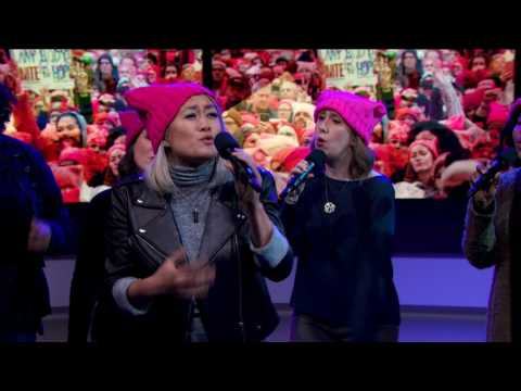 "MILCK Performs ""Quiet"" with GW Sirens and Capital Blend 