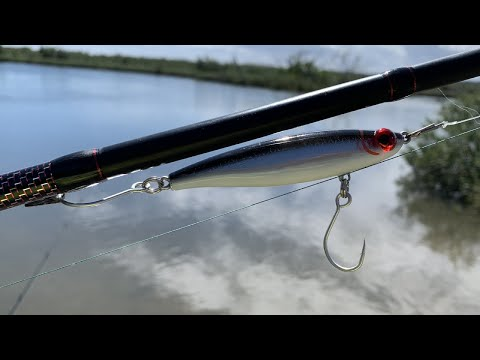 The Best Suspending Lures For Catching Redfish At Low Tide | MirrOLure Vs Yo-Zuri