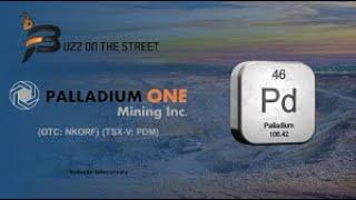 """Buzz on the Street"" Show: Palladium One Mining (TSX-V: PDM) (OTC: NKORF) News Report"