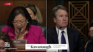Kavanaugh rejects classmate's 'belligerent' characterization of college years