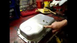 4L80E Transmission drain plug install