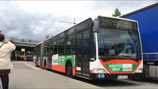 sound mitfahrt im hochbahn 7355 w ersatzverkehr s1 berliner tor bf hasselbrook 1080 hd