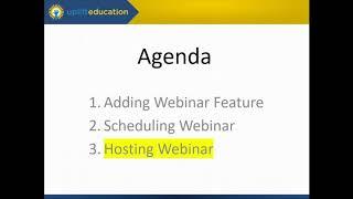 Uplift Education: Zoom: Webinars