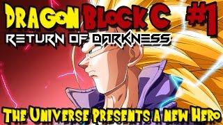Dragon Block C: Return of Darkness (Minecraft Mod) - Episode 1 - The Universe Presents a New Hero