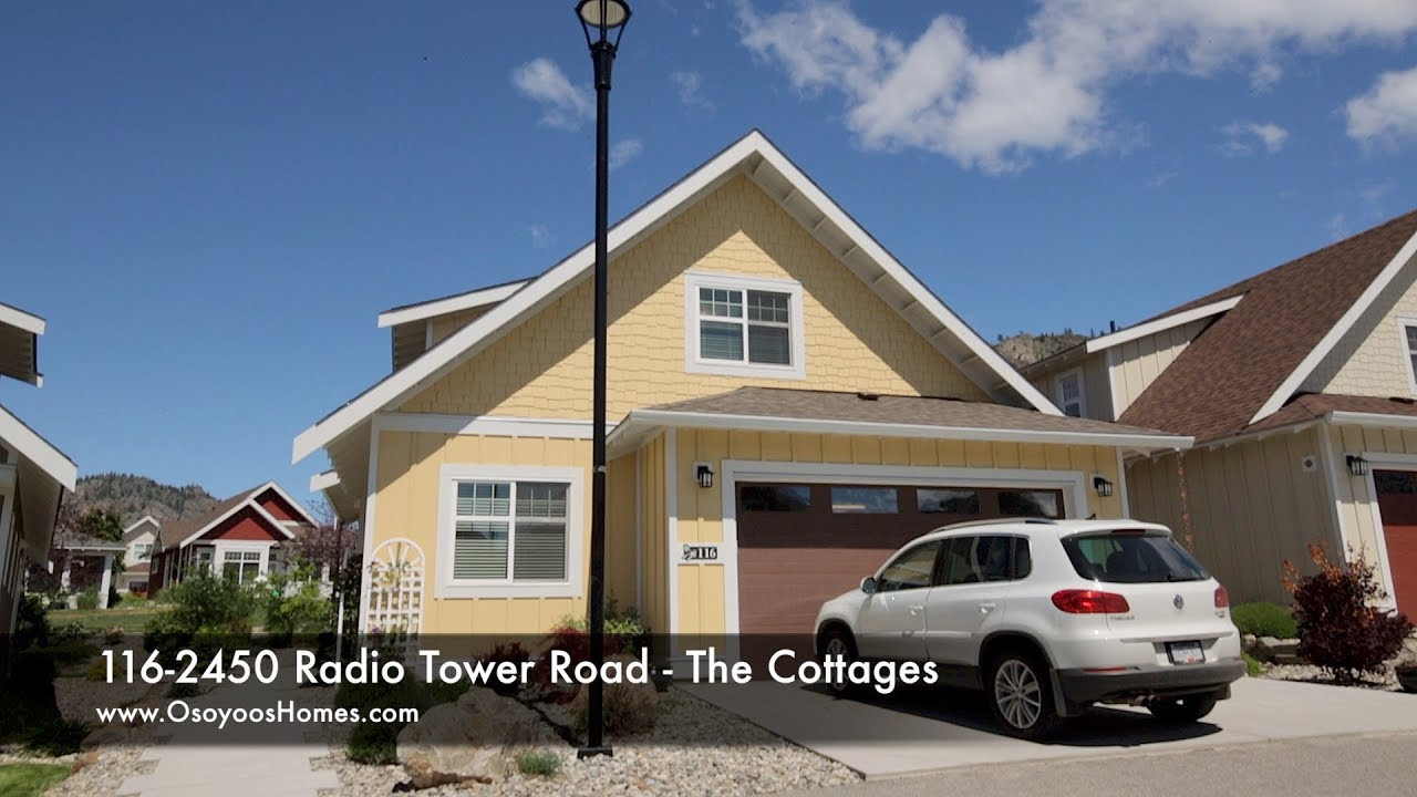 116-2450 Radio Tower Rd  - The Cottages, Oliver Homes For Sale