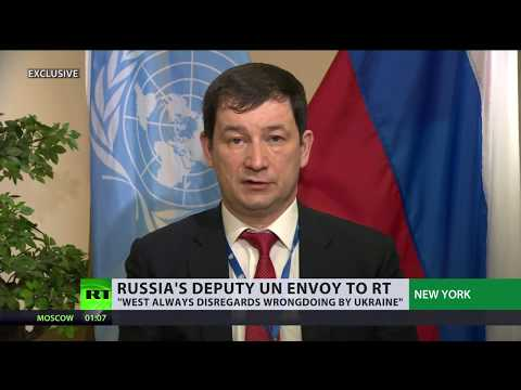 'West doesn't pay attention to any wrongdoings Ukraine does' – Russian UN diplomat