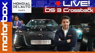 DS 3 Crossback | Live dal salone di Parigi 2018