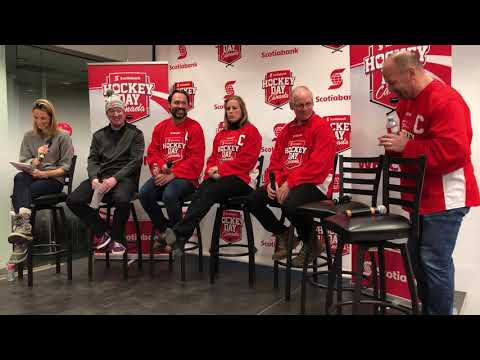 Scotiabank Hockey Day in Canada 2018 Hot Stove