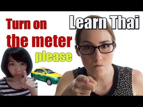 Learn Thai language : Take a Taxi