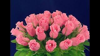 Необыкновенный Подарок Маме Учителю своими руками День рождения,Матери,8марта.Цветы с Бумаги Поделки