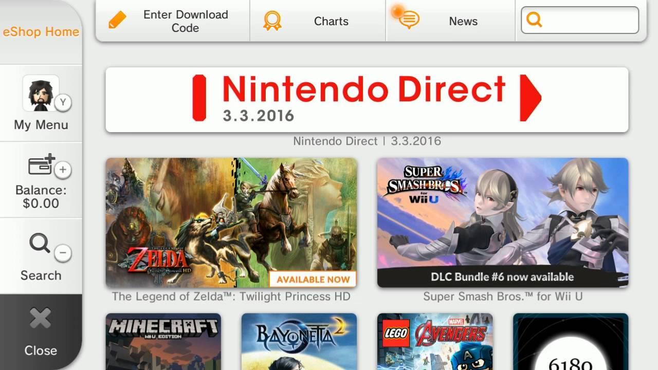 Wii U 2016 eShop music is FIRE - YouTube