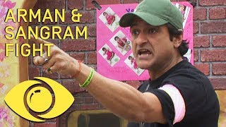 Sangram and Arman Fight! - Bigg Boss 7 | Big Brother Universe
