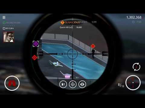 Get a score 700000 , kill Colin Ningbo - Hitman Sniper