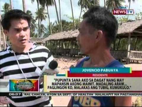 BP:  Tabing-dagat na may kumukulong tubig sa Cebu, pinuntahan ng Mines and Geosciences Bureau