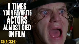 8 Times Your Favorite Actors Almost Died On Film