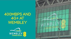 EE shows 400Mbps and 4G+ at Wembley