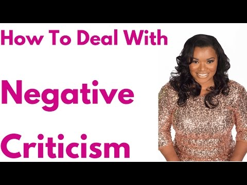 Other People's Negative Opinions Don't Matter