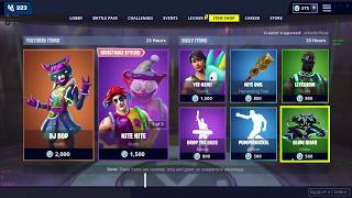 HAPPY NEW YEARS! | FORTNITE ITEM SHOP TODAY! | NEW DJ BOP SKIN! (JANUARY 1ST)