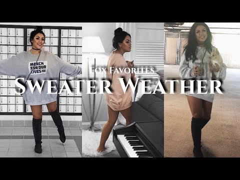 [VIDEO] - Sweater Weather Haul | Favorite Fall Outfits | Francesca Fox 9