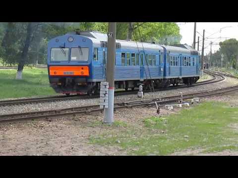 Выезд АЧ2 со станции Брянск-I