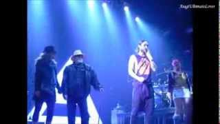 30 Seconds To Mars ~ Wolf Man song Live (Jared Leto & man dancing) The Norva, Norfolk VA 12-19
