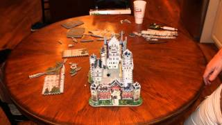 The Making of Neuschwanstein Castle 3D Puzzle