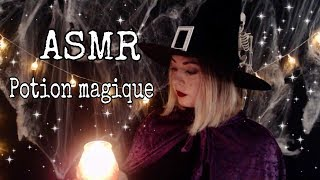[ASMR Français]🎃Witch Roleplay💕Filtre d'amour | Louise ASMR