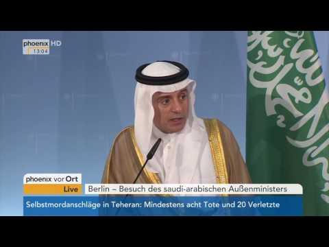 Treffen von Sigmar Gabriel und Adel bin-Ahmed al-Jubeir am 07.06.17