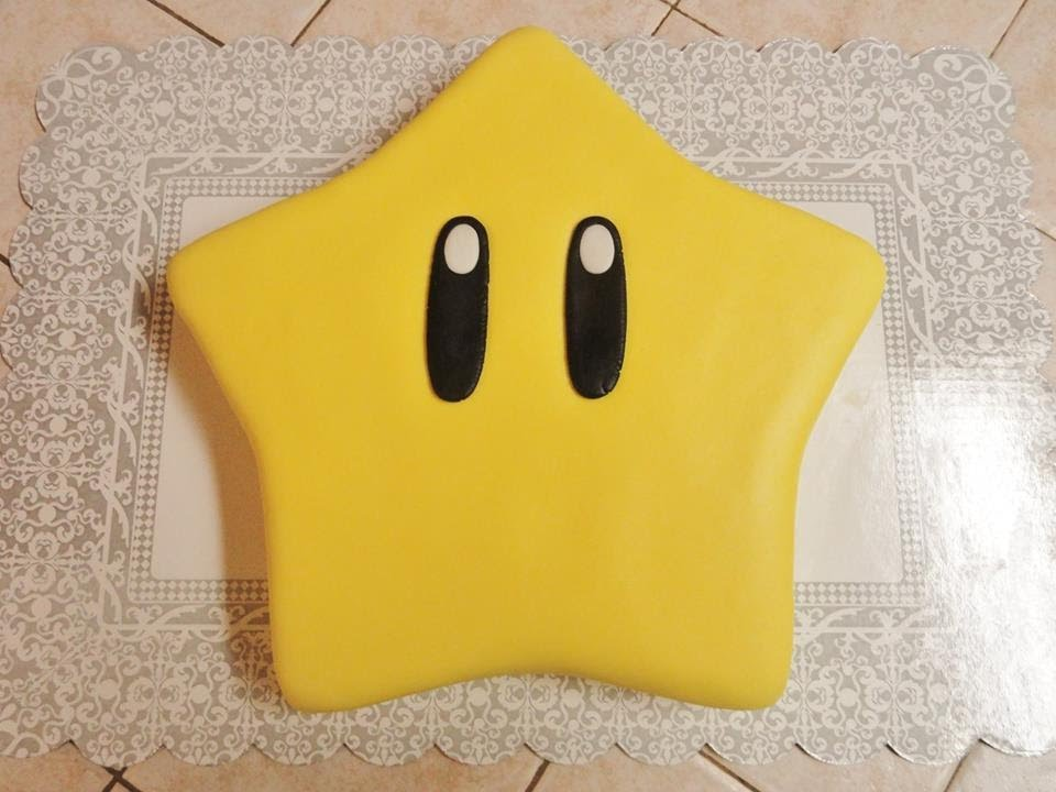 How To Make A Super Mario Star Cake