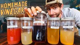 Why I started making my own vinegars from scratch...