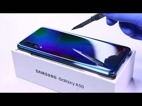 Samsung Galaxy A50 Unboxing and Camera Test! - ASMR