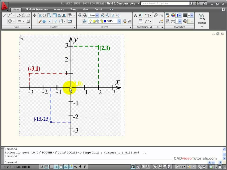 how to make an object bigger autocad