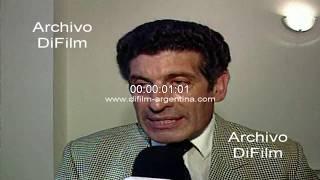 Chacho Alvarez candidato de la Alianza en la formula presidencial 1997
