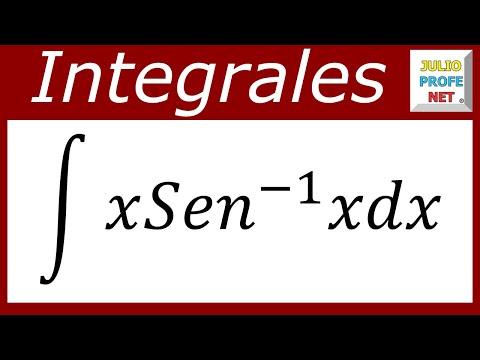 INTEGRACIÓN POR PARTES Y SUSTITUCIÓN TRIGONOMÉTRICA - Ejercicio 1