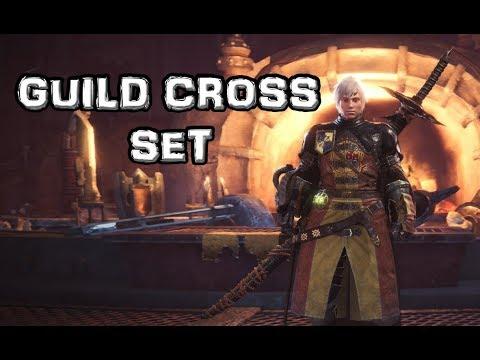 Monster Hunter World - Guild Cross Set - [High Rank]