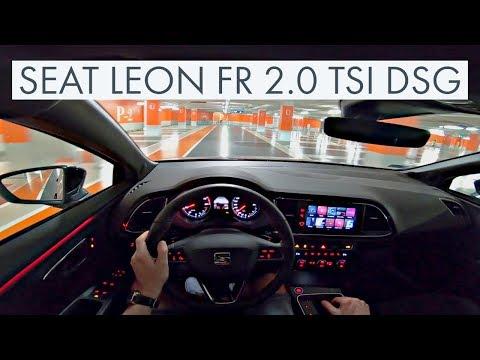 Seat Leon 2.0 TSI FR DSG (2019) - POV City + Highway (60FPS) #Seat