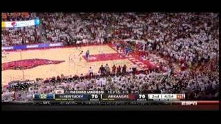 Arkansas vs. Kentucky 1/14/2014: The Dunk