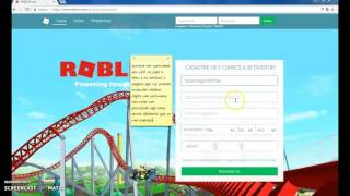 How to create an account in ROBLOX