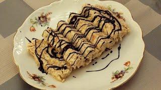 Salame de chocolate con banano - Torta de bizcocho con banano