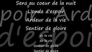 Les choristes - Vois sur ton chemin - lyrics